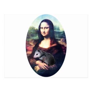 Mona Lisa Possum Postcard