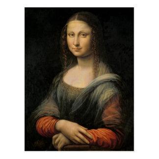 Mona Lisa Postcard (Alternate Version)
