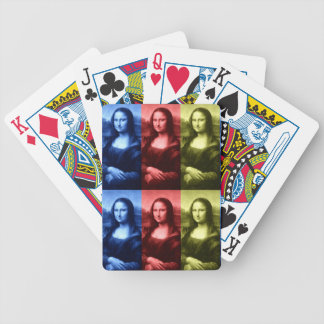 Mona Lisa Primary Colors Poker Deck