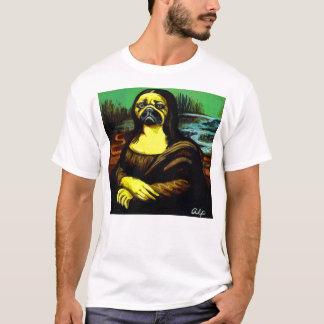 Mona-Lisa-Pug $22.95 T-Shirt