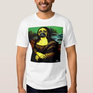 Mona-Lisa-Pug $22.95 Tshirts