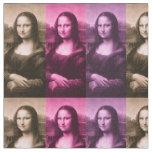 Mona Lisa Purple Pink Chocolate Fabric