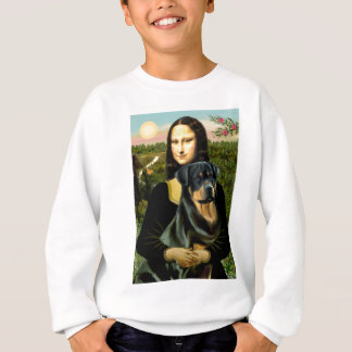 Mona Lisa - Rottweiler (#3) Sweatshirt