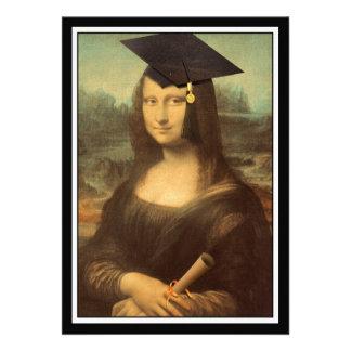 Mona Lisa s Graduation Day Personalized Announcement