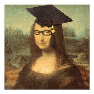 Mona Lisa s Graduation Day Personalized Invite