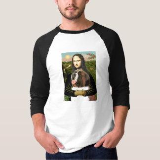 Mona Lisa - Saint Bernard T-Shirt