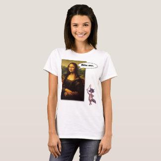 Mona Lisa Says:  Bite Me T-Shirt
