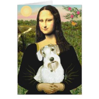 Mona Lisa - Sealyham Terrier (L) Card