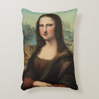 Mona Lisa Smile Accent Pillow Accent Cushion