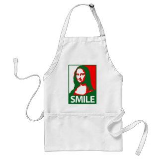 Mona Lisa Smile Apron