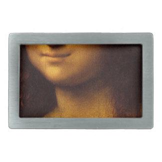 Mona Lisa Smile Rectangular Belt Buckles