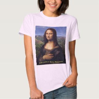 Mona Lisa Smile Bohol T Shirts