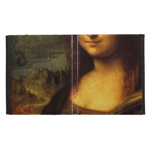 Mona LIsa Smile iPad Cases