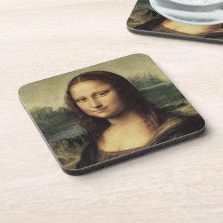 Mona Lisa smile Drink Coasters