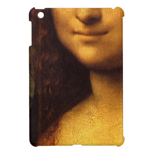 Mona Lisa Smile iPad Mini Cover