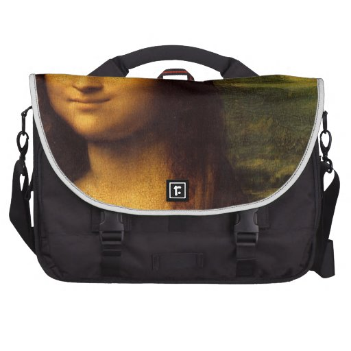 Mona Lisa Smile Laptop Bag
