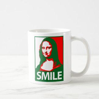 Mona Lisa Smile Mugs