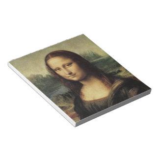 Mona Lisa smile Memo Notepad