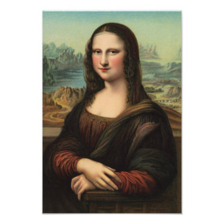 Mona Lisa Smile Photo Print