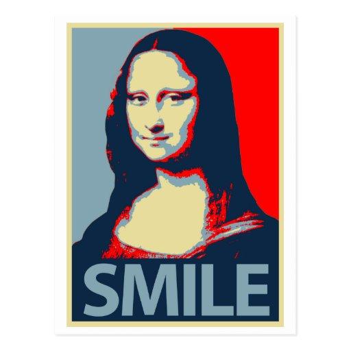 Mona Lisa Smile Postcards
