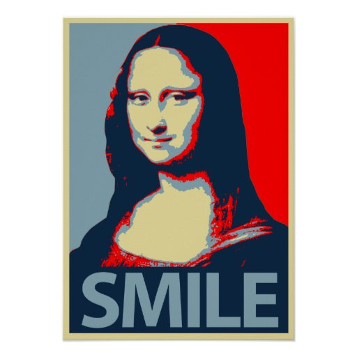 Mona Lisa Smile Print