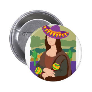 Mona Lisa Sombrero Pins