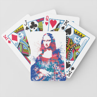 Mona Lisa splach Poker Deck