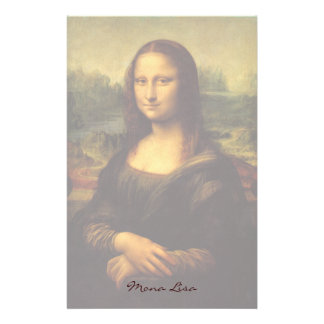 Mona Lisa Stationery