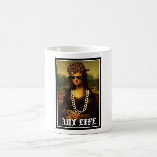 Mona Lisa Thug Life Art Life Coffee Mug
