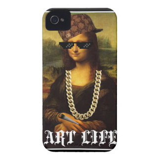 Mona Lisa Thug Life Art Life iPhone 4 Case-Mate Cases