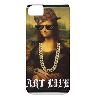 Mona Lisa Thug Life Art Life iPhone 5 Case