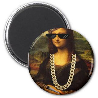 Mona Lisa Thug Life Art Life Magnet