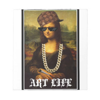 Mona Lisa Thug Life Art Life Notepad