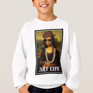Mona Lisa Thug Life Art Life Sweatshirt