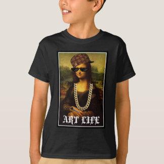 Mona Lisa Thug Life Art Life T-Shirt
