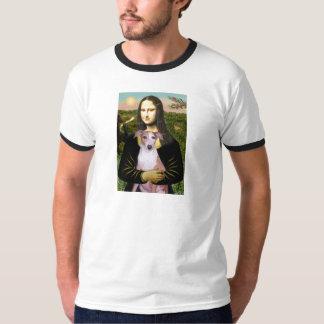 Mona Lisa - Whippet (#7 light red) T-Shirt