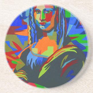 Mona Lisa Wpap Coaster