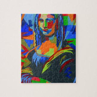Mona Lisa Wpap Jigsaw Puzzle