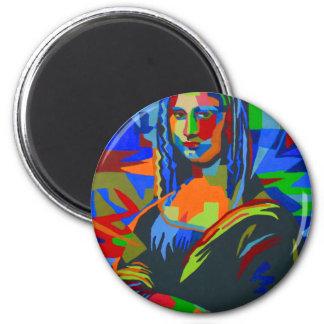 Mona Lisa Wpap Magnet