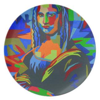 Mona Lisa Wpap Plate