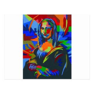 Mona Lisa Wpap Postcard