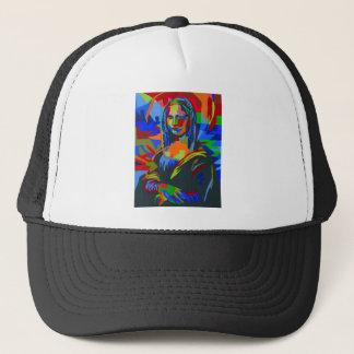 Mona Lisa Wpap Trucker Hat
