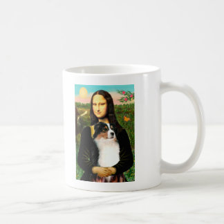 Mona Lisa's Australian Shepherd (Tri) Coffee Mug