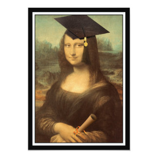 Mona Lisa's Graduation Day Personalized Announcement