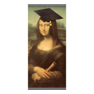Mona Lisa's Graduation Day Rack Card