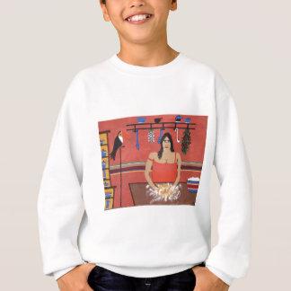 Mona Making Cornbread Sweatshirt