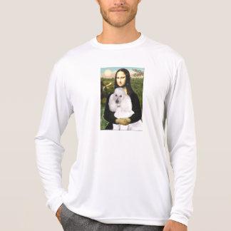 Mona-Pood-White-Standard Poodle T-Shirt