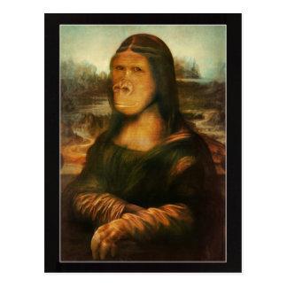 Mona Rilla aka  Mona Lisa Postcard