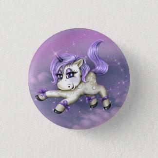 MONA UNICORN LOVE Button Small, 1¼ Inch