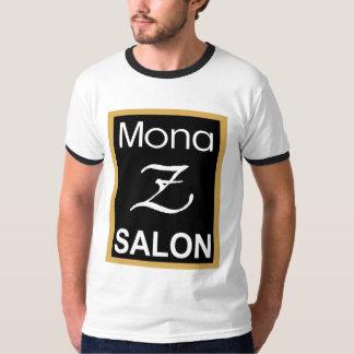 Mona Z Logo Mens Ringer Tee